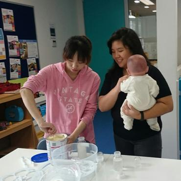 Childcare Students