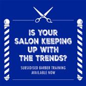 Banner hairdressing